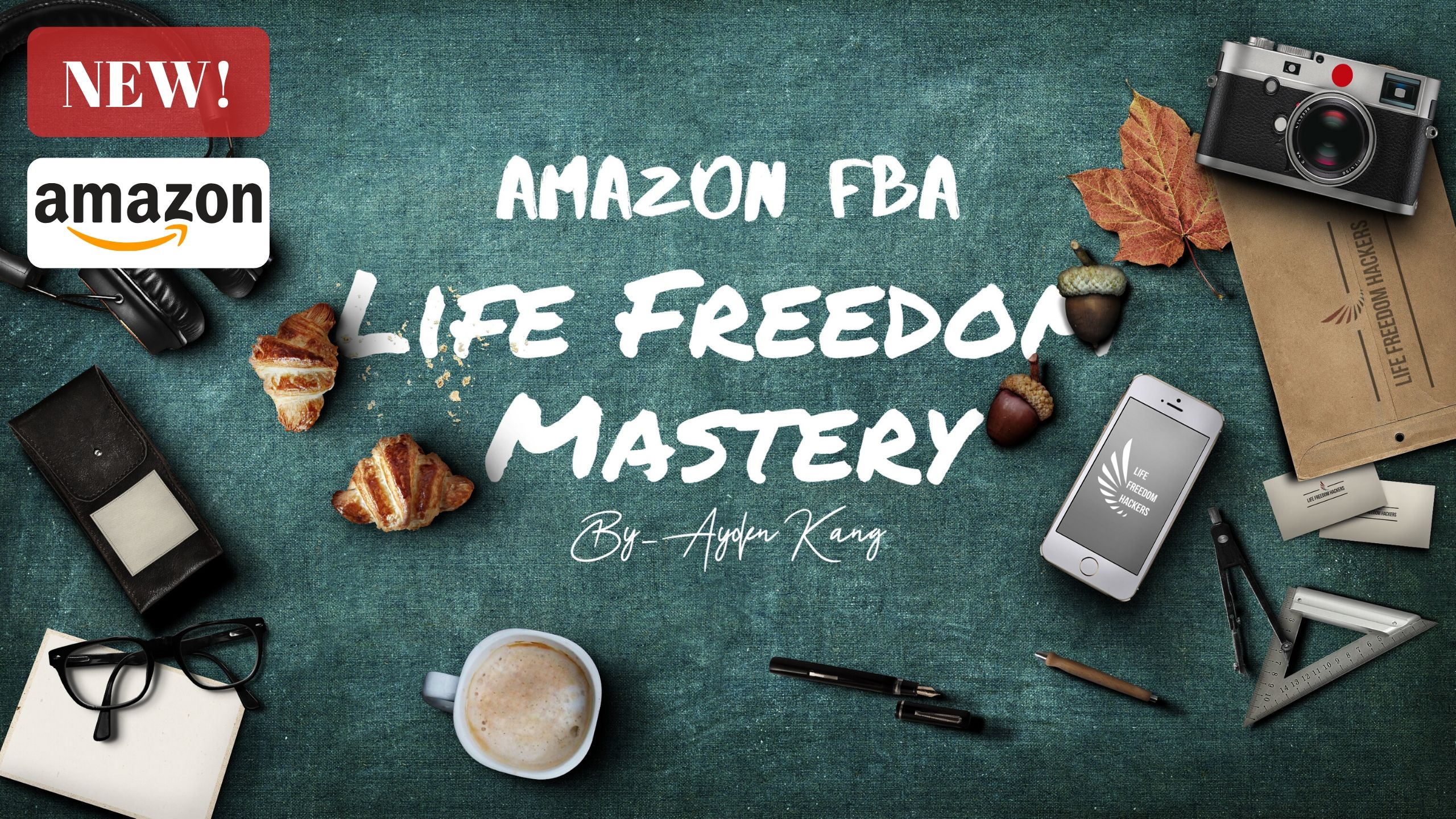 Amazon FBA Life Freedom Mastery (아마존 FBA 정규 과정)